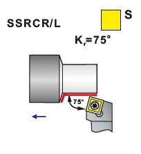 Nože soustružnické SSRCR, SSRCL