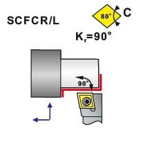 Nože soustružnické SCFCR, SCFCL
