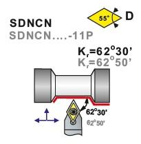 Nože soustružnické SDNCN