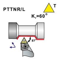 Soustružnické nože PTTNR, PTTNL