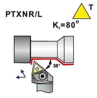 Soustružnické nože PTXNR, PTXNL