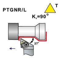 Soustružnické nože PTGNR, PTGNL