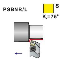 Soustružnické nože PSBNR, PSBNL