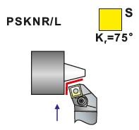 Soustružnické nože PSKNR, PSKNL