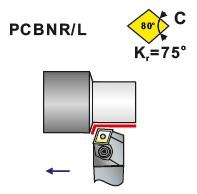 Soustružnické nože PCBNR, PCBNL