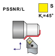 Soustružnické nože PSSNR, PSSNL -K