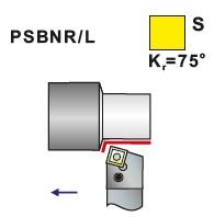 Soustružnické nože PSBNR, PSBNL -K