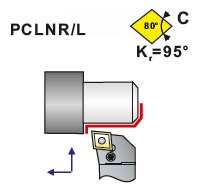 Soustružnické nože PCLNR, PCLNL -K