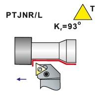 Soustružnické nože PTJNR, PTJNL -K