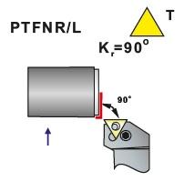 Soustružnické nože PTFNR, PTFNL -K