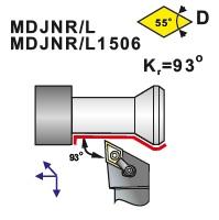 Soustružnické nože MDJNR, MDJNL