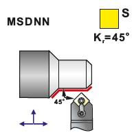 Soustružnické nože MSDNN