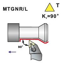 Soustružnické nože MTGNR, MTGNL