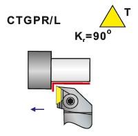 Soustružnické nože CTGPR, CTGPL
