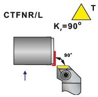Soustružnické nože CTFNR, CTFNL