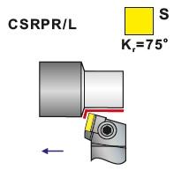 Soustružnické nože CSRPR, CSRPL