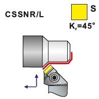 Soustružnické nože CSSNR, CSSNL