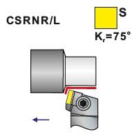 Soustružnické nože CSRNR, CSRNL
