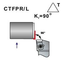 Soustružnické nože CTFPR, CTFPL - L