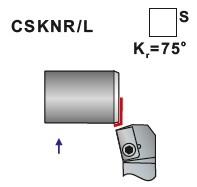 Soustružnické nože CSKNR, CSKNL- L