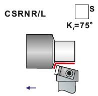 Soustružnické nože CSRNR, CSRNL- L