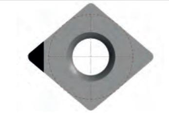 Soustružnické VBD CCGW - PKD
