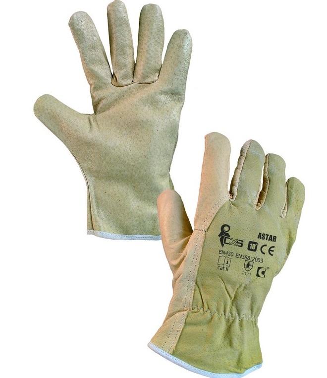 CXS ASTAR rukavice celokožené
