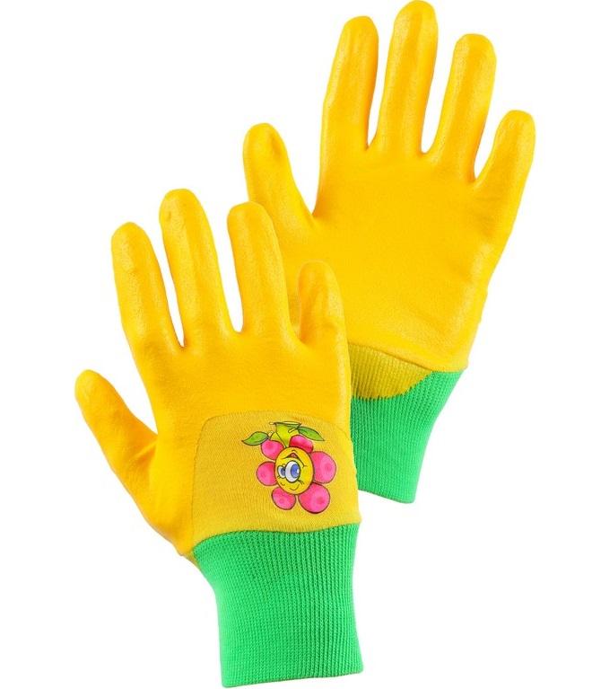 rukavice DRAGO, žluté