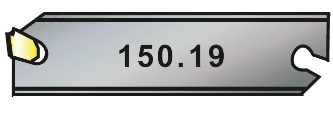 Planžety upichovací 150.19 pro VBD LFMX
