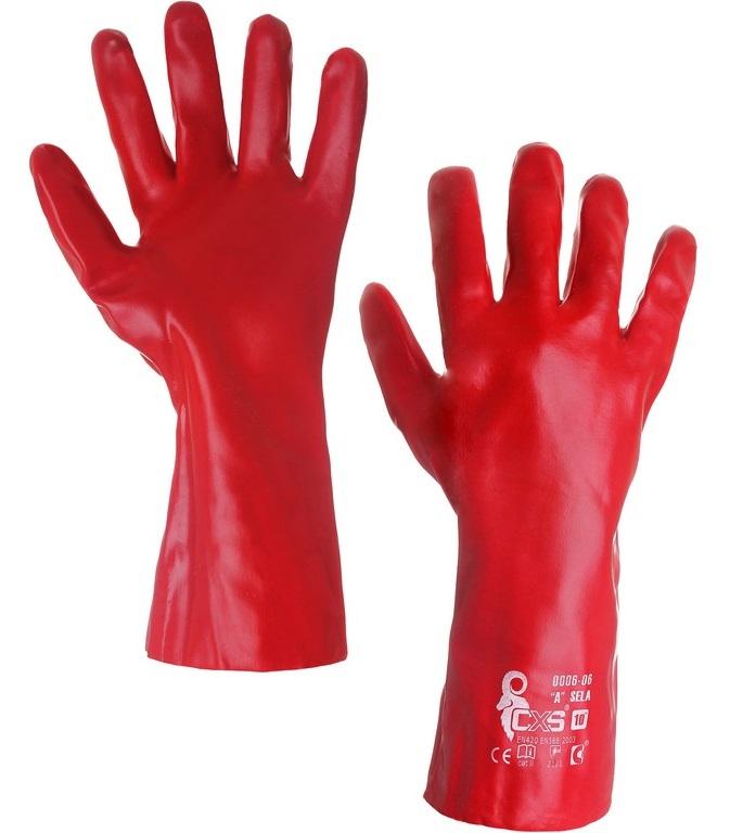 CXS SELA rukavice máčené