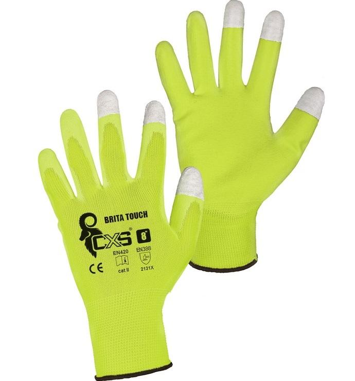 CXS BRITA TOUCH rukavice máčené