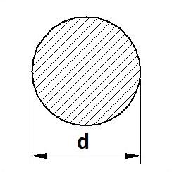 Tyč kruhová válcovaná S235JR (11375) běžná konstrukční ocel