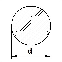 Tyč kruhová válcovaná 51CrV4 (15260)