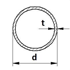 Trubka bezešvá hydraulická