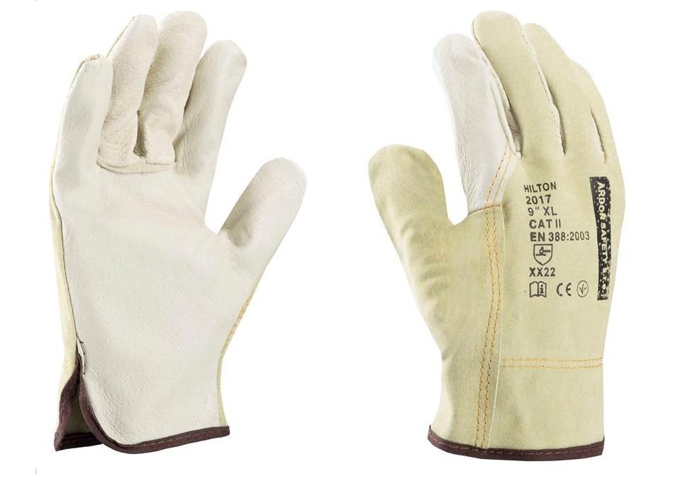 HILTON rukavice celokožené