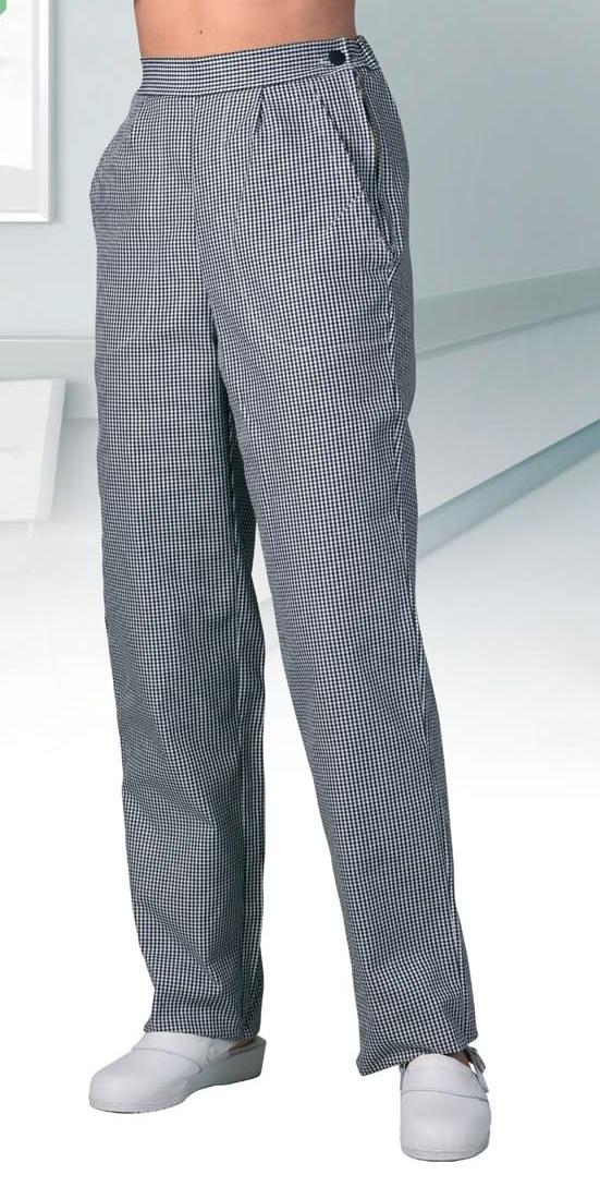 0478 kalhoty PEPITO - boční zapínání & pruženka