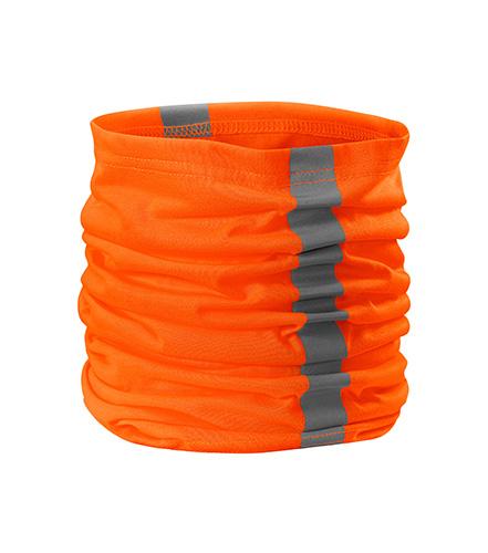 HV TWISTER šátek, oranžový