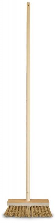 Koště chodníkové s násadou 120 cm