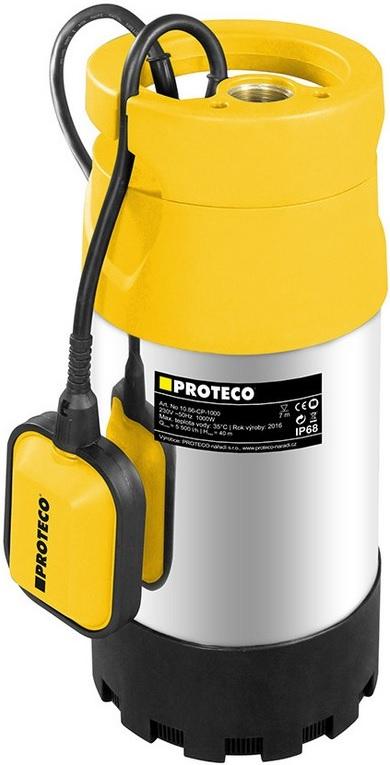 PROTECO Čerpadlo ponorné 4-stupňové 1000 W (10.86-CP-1000)