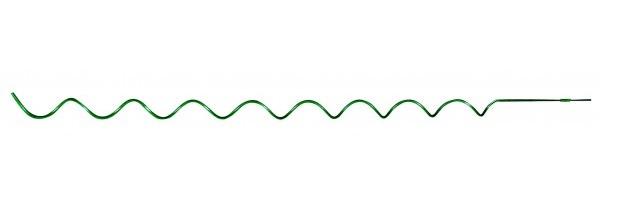 Spirálová tyč k rajčatům 180cm/7mm zelená