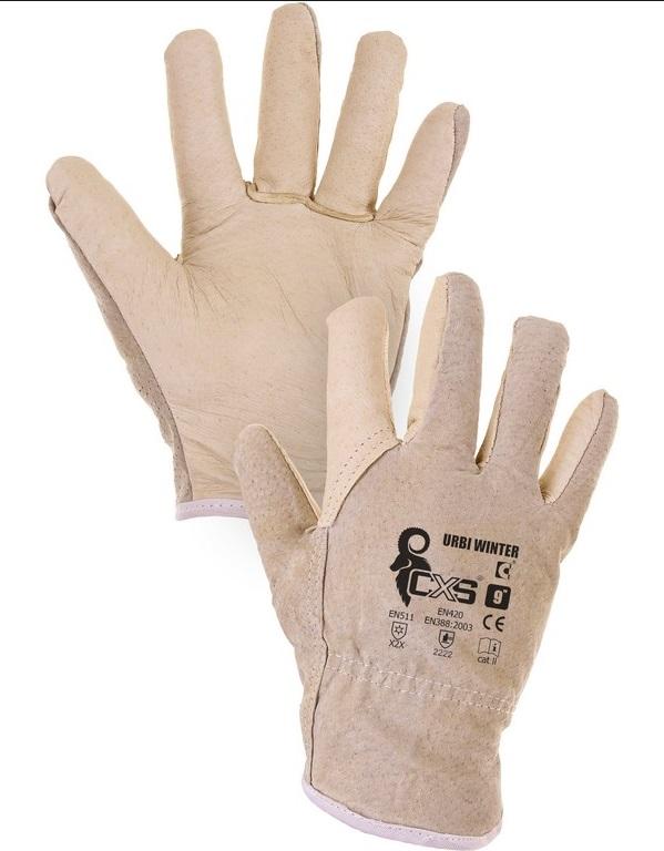 CXS URBI WINTER rukavice zimní