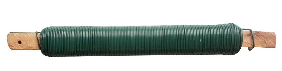 Dráty vázací PVC na dřívku