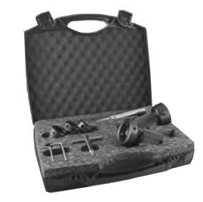 Držák ZKC a závitníků s délkovým vyrovnáním a stupnicí s uvedením hloubky - sada (plastový kufr)