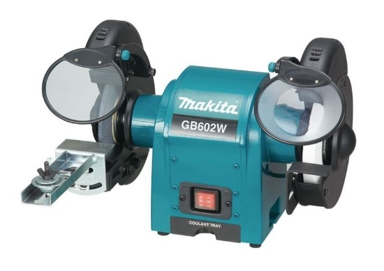 Makita GB602 Dvoukotoučová bruska 150mm, 250W