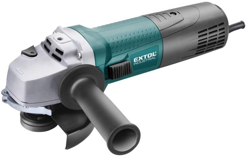 Extol Industrial Úhlová bruska s regulací 125mm, 1400W