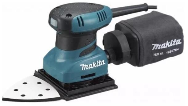 Makita BO4565K Vibrační bruska 112x190mm, 200W