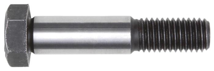 Šroub lícovaný s šestihrannou hlavou a dlouhým závitem DIN 609