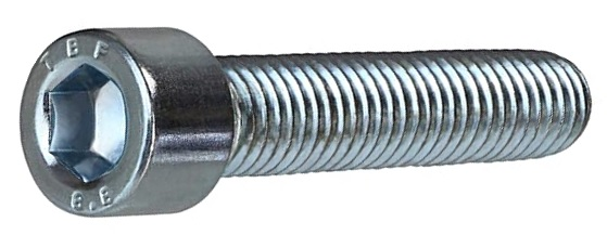 Šroub s válcovou hlavou a vnitřním šestihranem imbus (inbus) DIN 912 s jemným závitem pevnost 12.9 bez povrchové úpravy