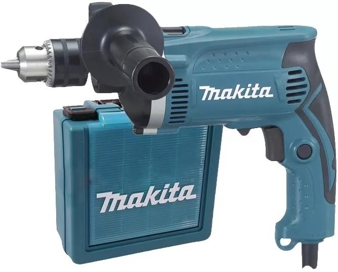 Makita HP1630K Příklepová vrtačka 710W