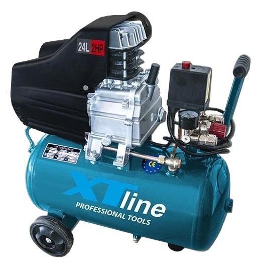 XTline XT2002 Kompresor olejový 2HP 1,5KW 8bar 24l